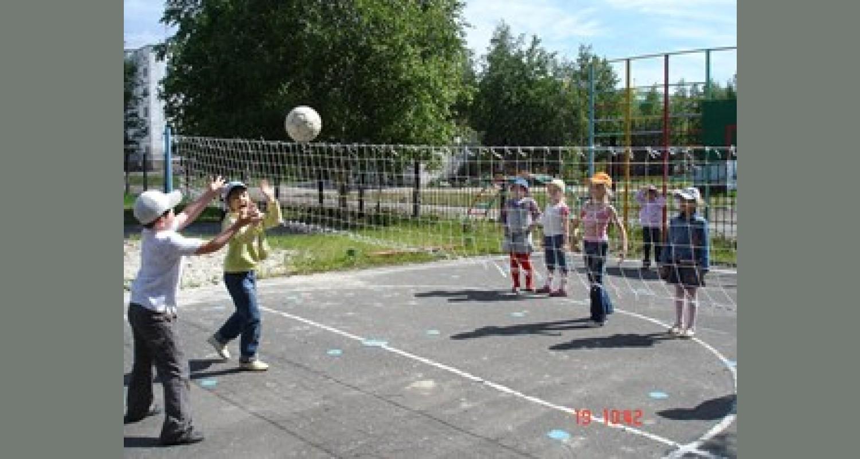 Обучение детей играм с элементами спорта