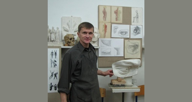 Композиция на уроках скульптуры в ДХШ