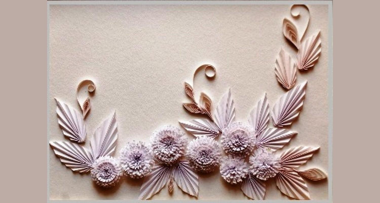 Декоративные работы из бумаги